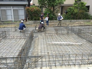 JIOの鉄筋検査