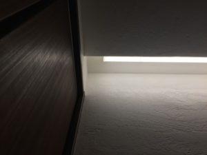 書斎の照明の位置が???