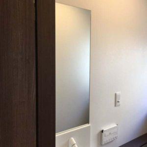 トイレに鏡を設置