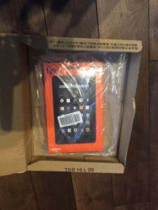 Amazonの「Fire タブレット」を購入しました