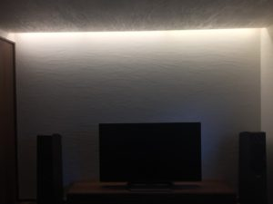 書斎の照明の交換完了