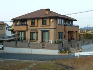 大きなハウスメーカーの家