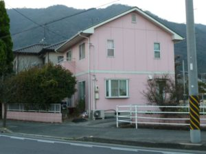 色々な壁の色の家