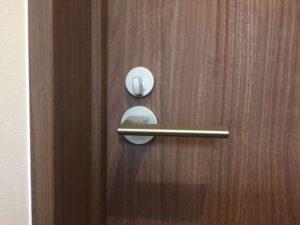 自分でトイレのドア建付け調整をしました