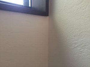 漆喰壁のひびを多数発見!