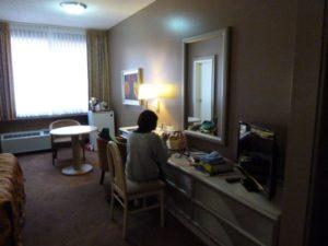 ホテルより、やはり新しい我が家が快適!