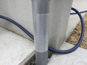 ガルバの樋のプロテクターを自作する