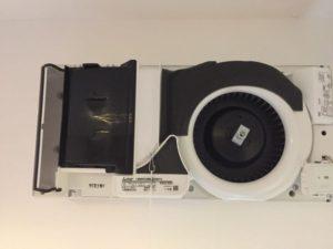 熱交換換気のロスナイ(VL-10ES2)のフィルター掃除