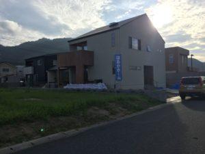 「大きくてシンプルな家」の外構工事開始!