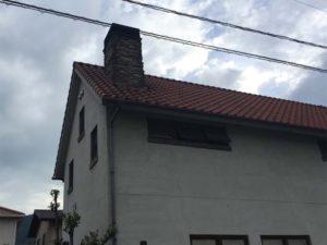 煙突のある家