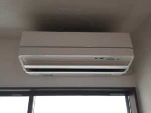 リビングのエアコン(冷房)の効きがイマイチ