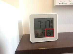 二階のトイレの暑さ対策