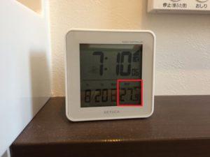 二階のトイレの暑さ対策2