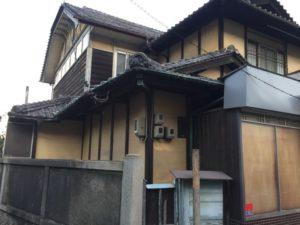 水呑町の古い家