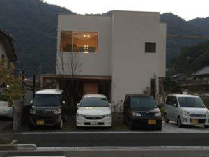 田尻町のお洒落なお家は「美容院」兼「住宅」