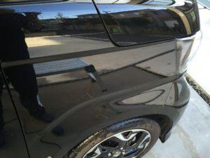 コンパクトブロアーを使ってN-BOXを洗車