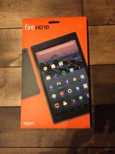 Amazonの「Fire HD 10」を買ってしまった
