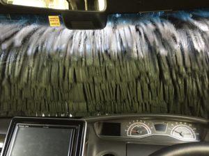 N-BOX初の洗車機