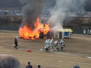 2018年福山消防出初式に行ってきました(その2)
