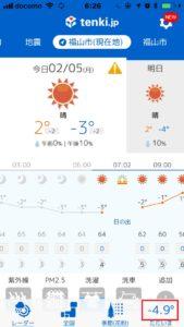 今年の冬は本当に寒い!