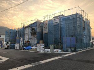 ワウタウン水呑三新田に続々と建築中