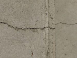 コンクリートヒビ割れ修理の結果