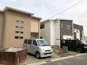 ワウタウン水呑三新田の新居が完成間近!