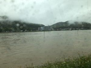 大雨!7月7日朝の状況