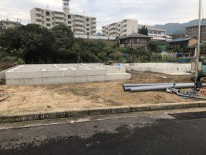 福山市水呑ポンプ場近くの建売住宅