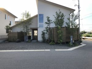 気になっていたお家が完成「横山整体院」