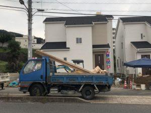 福山市水呑ポンプ場近くの建売住宅2