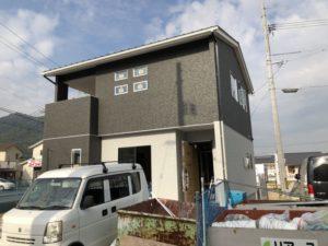 ワウタウン水呑三新田の家がほぼ完成