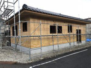 田尻町の古風な平屋