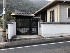 田尻町の建て替えられた家