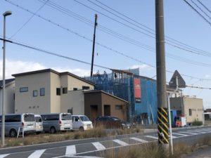 水呑三新田は新築ラッシュ