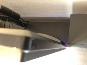 液晶ディスプレイアーム「GH-AMCF01」を改造して使用