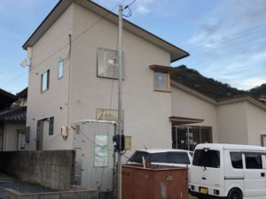 田尻町の建築中のお家3(大きな屋根)