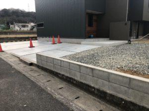 田尻町の建築中のお家4(ガルバの壁)