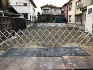我が家の近くの基礎の施工3