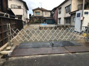 我が家の近くの基礎の施工4