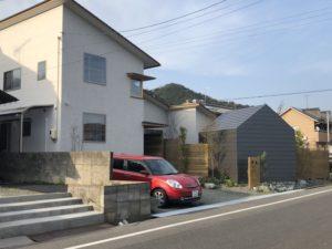 田尻町の建築中のお家6(大きな屋根)