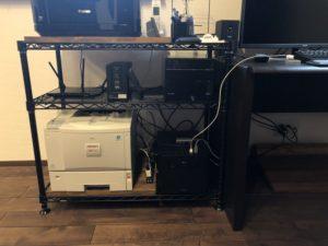 パソコンラックの改良