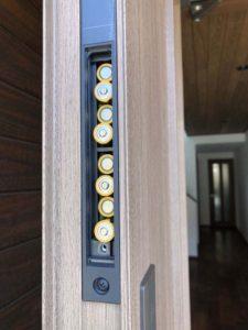 4回目の玄関ドアの電池交換