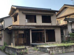 近所で家の解体