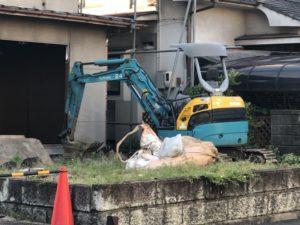 近所で家の解体2