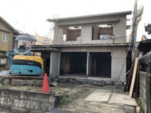 近所で家の解体3