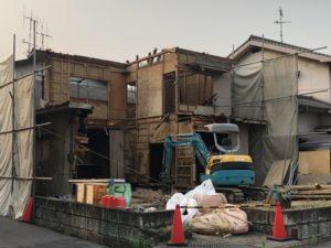 近所で家の解体4