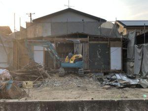 近所で家の解体5