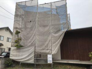こちらのお家も壁の補修
