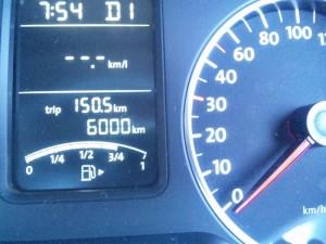 6000km
